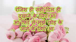 famous shayar love shayari in hindi with image