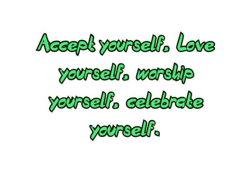 love quotes yourselves