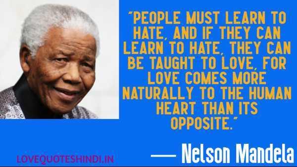 nelson mandela love quotes