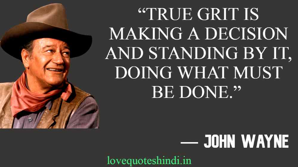 True Grit Quotes