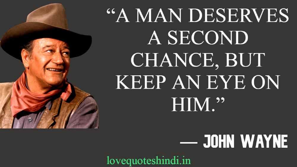Famous Quotes of John Wayne