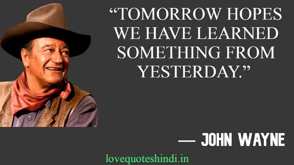 Best John Wayne Quotes